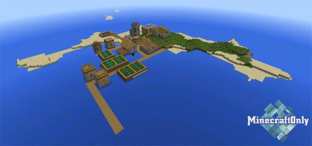 [СИД PE] Деревня на острове Яблока