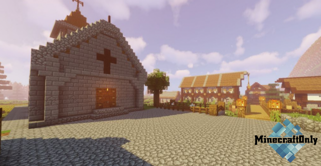 [1.12.2/1.12] Medieval Village with Castle Map