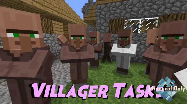 [1.13.2] VILLAGER TASKS