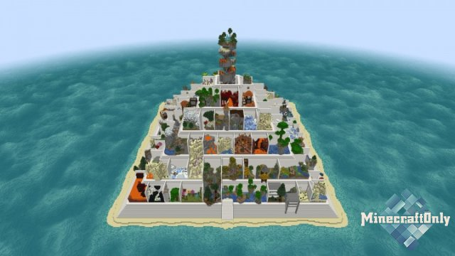 Parkour Pyramid — лучший паркур в Minecraft [1.13]