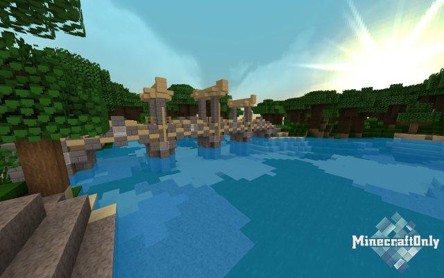 Apture — гладкие текстуры Minecraft [1.12]