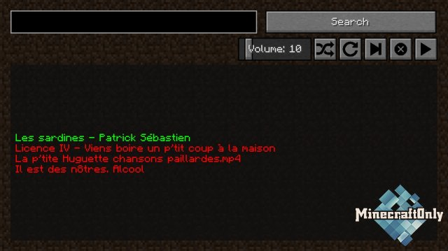 Музыкальный плеер в Minecraft [1.14.3]