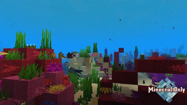 Bare Bones — минималистичные текстуры для Minecraft [1.14]