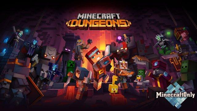 Геймплей Minecraft Dungeons [VIDEO]