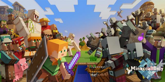 Новая боевая механика в Minecraft?