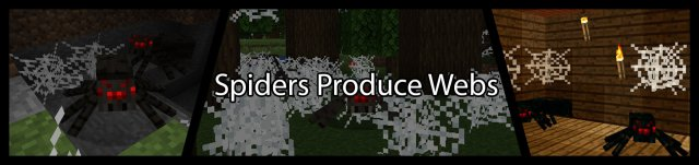 Spiders Produce Webs [1.14.4]