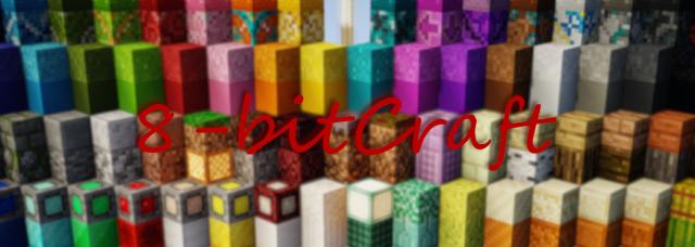 Текстур-пак 8-bitCraft [1.14.4]