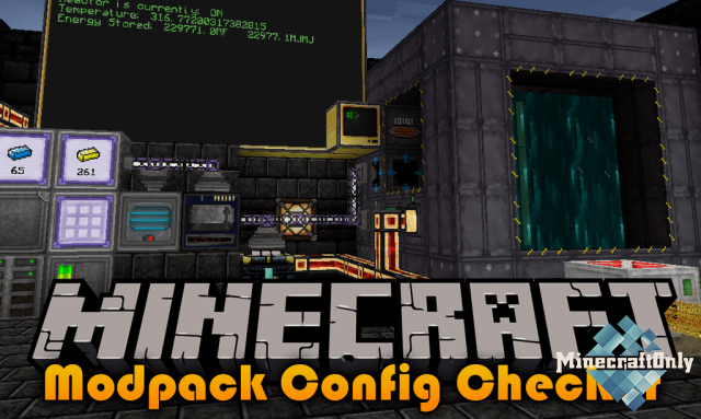 Modpack Configuration Checker Mod [1.14.4]