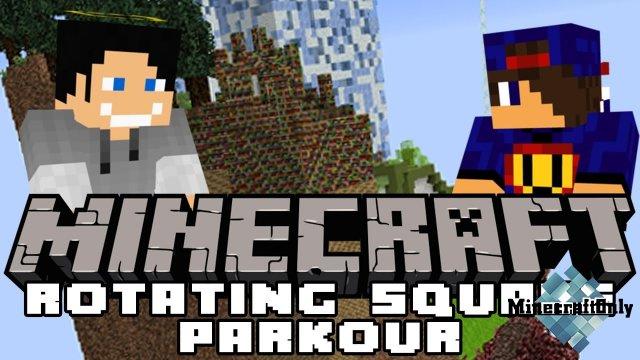 Rotating Square Parkour [1.12.2]