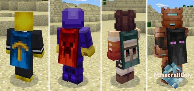 HD-плащи для Minecraft