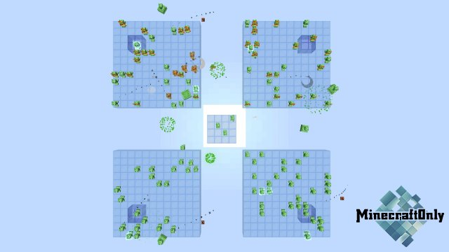 Defender 3 | PvP-карта с криперами