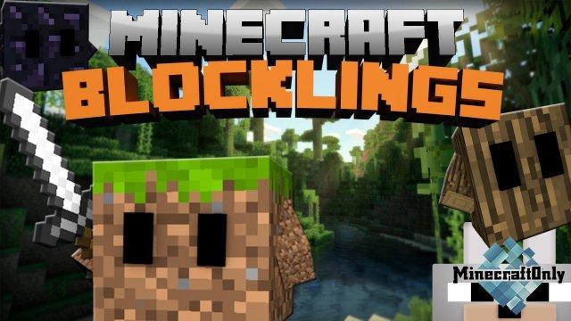 Blocklings [1.12.2] - Создай своего питомца