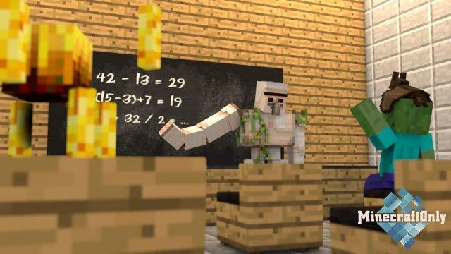 В Донском университете провели лекцию в Minecraft