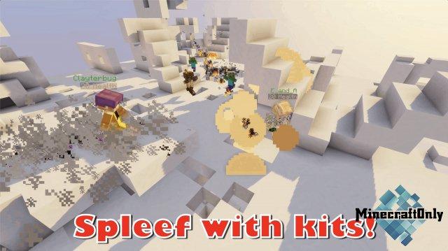 [Карта] Kit Spleef [1.15.2]