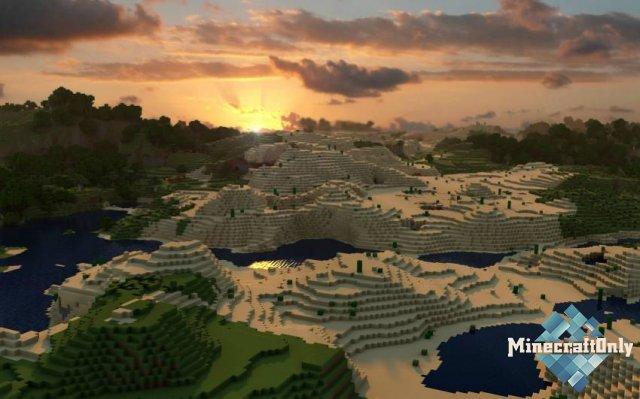 Фоны на рабочий стол по тематике Minecraft'a