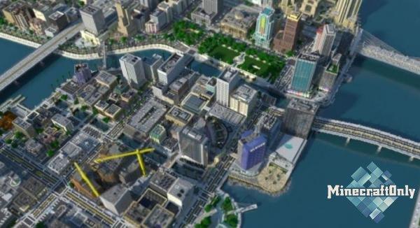 [Карта] Greenfield - Самый большой город в Minecraft