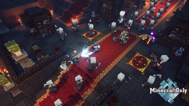 Minecraft Dungeons - новинка среди игр!
