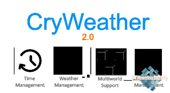 [1.16] CryWeather - Управляйте погодой легко!