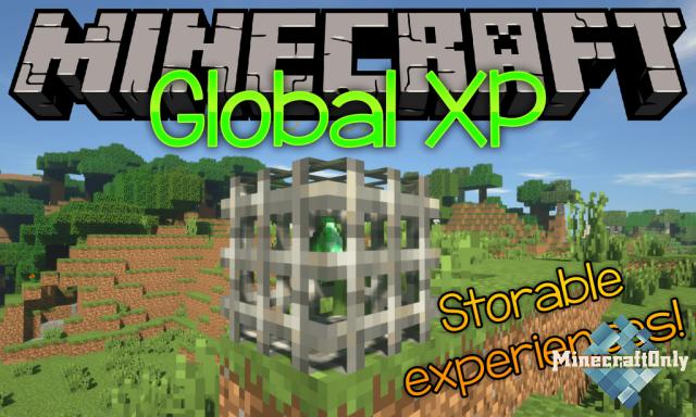Global XP [1.15.2] - Магазин опыта для игроков
