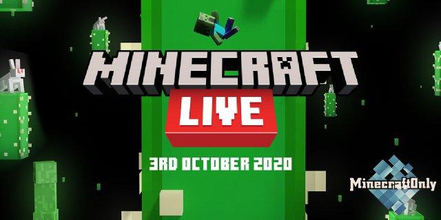 MINECRAFT LIVE - Анонс Онлайн-Праздника!