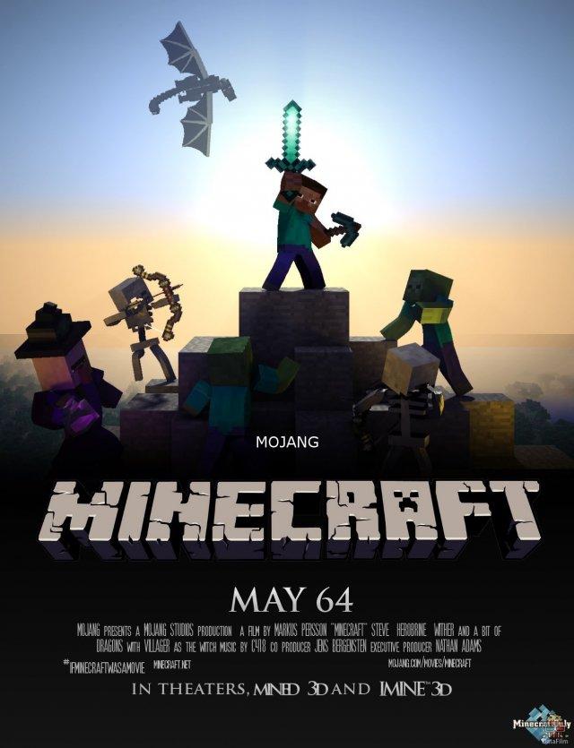 Фильм по игре Minecraft отложен на неопределенный срок