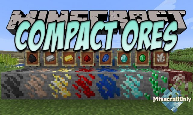 Compact Ores [1.16.3] - Сжатые руды