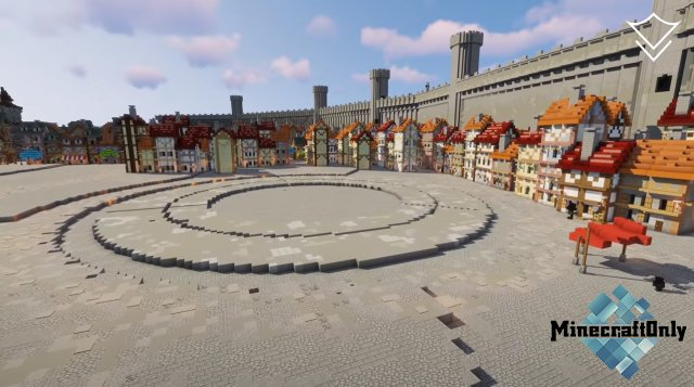 [Minecraft Time-Lapse] The City of Orario