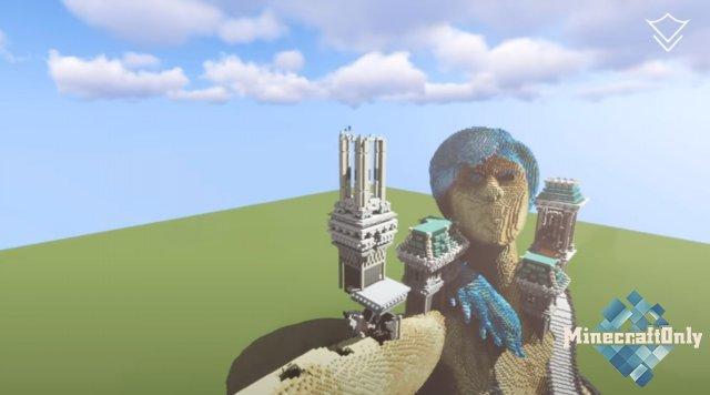 [Minecraft Timelapse] Aqua Princess