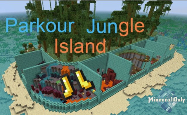 Maps - Parkour Jungle Island