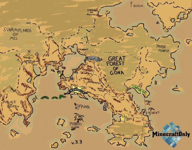 LANDS - Regions and Wonders [1.16.4]