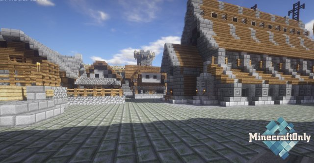 Medieval Fortress Mojang Builds [1.11.2]