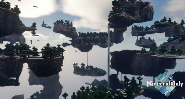 Sanonasu's Floating Islands [1.16.5]