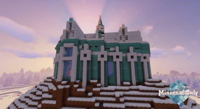 Карта - Замок Снежной Королевы