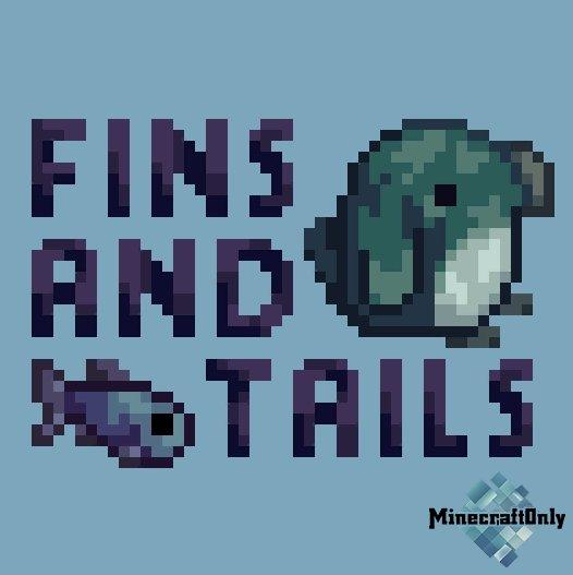 Fins and Tails - водные обитатели, улитки, рыбы, раки
