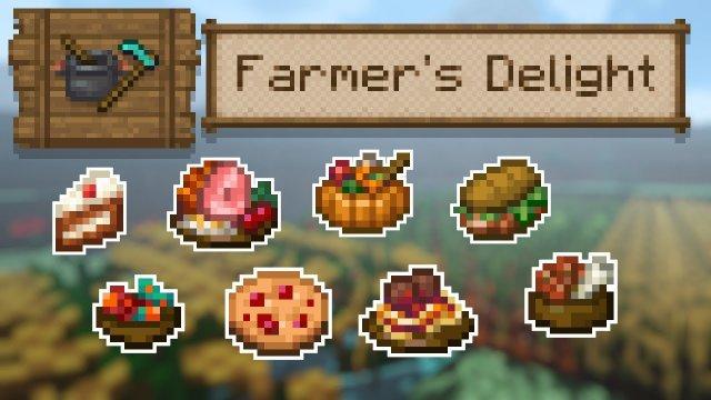 [Моды] Farmer's Delight [1.15.2][1.16.5] - мод на фермерство