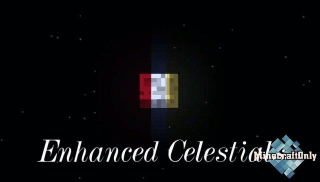 Enhanced Celestials - Blood Moons & Harvest Moons - кровавая и урожайная луна [1.16.5]