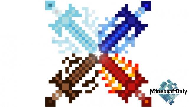 Four Elemental Swords