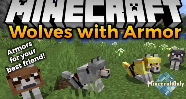 [Мод] Wolves with Armor [1.16.5]