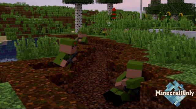 Закаты алье [Minecraft анимация]