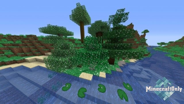 Seasons in Minecraft! - смена сезонов в майнкрафте
