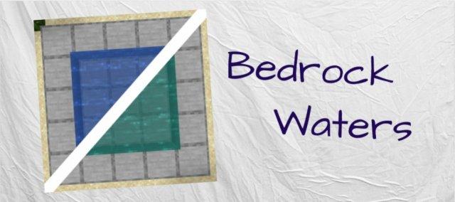 [Моды] BedrockWaters - цветовая гамма воды [1.16.4]